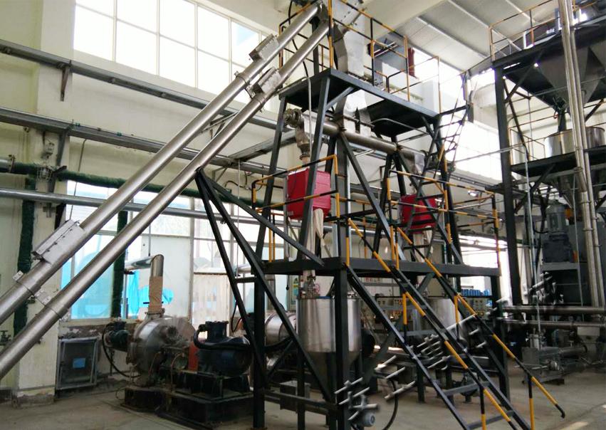 硫磺管链输送系统