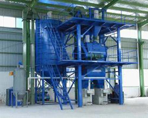 立式干混砂浆生产线