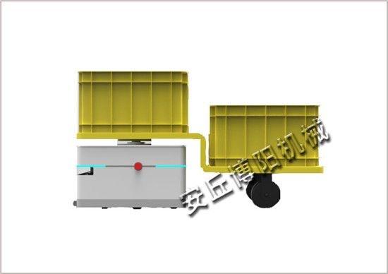 尾部牵引型AGV